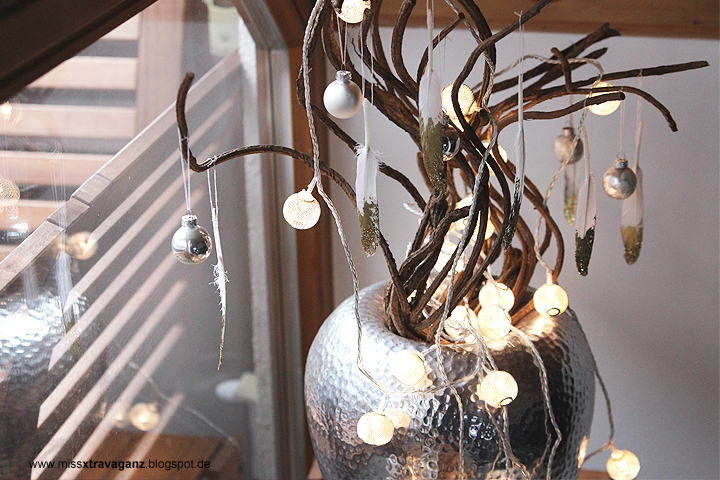 Interior weihnachtsdekoration part i fenster miss for Weihnachtsdeko schwarz