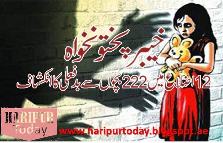 Child Rape in KPK