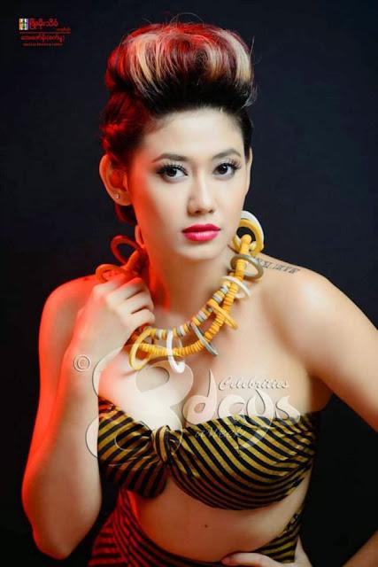 Thinzar Wint Kyaw - Myanmar Model Girls