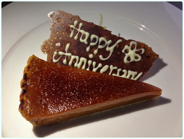 Mr Cooper's House and Garden, Manchester - caramel tart