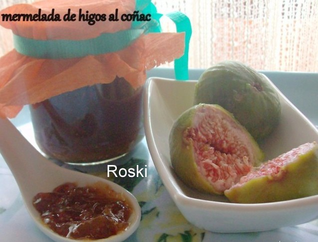 Mermelada De Higos Al Coñac