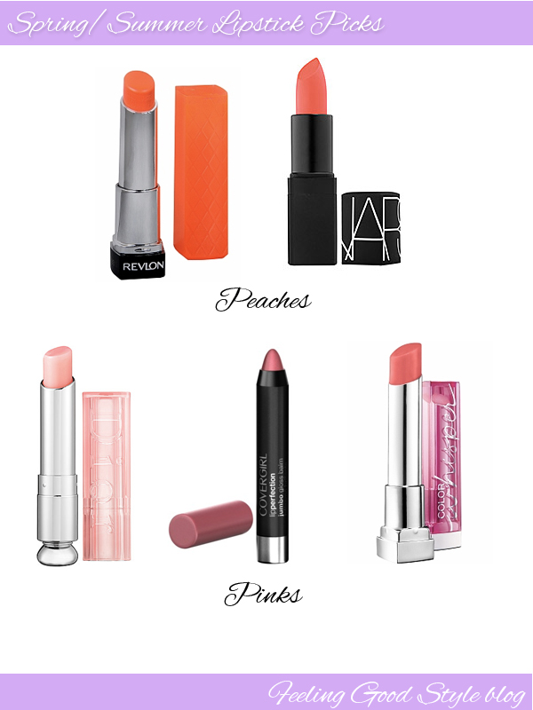 spring summer lipsticks