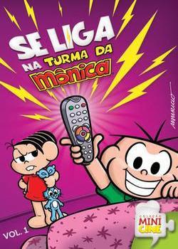 monica Se Liga na Turma da Mônica Vol. 1   DVDRip AVI + RMVB Nacional