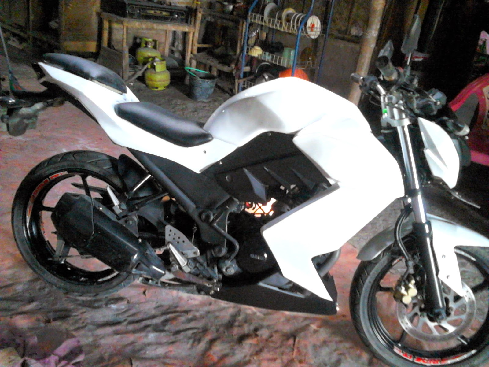 byson modifikasi ninja z250 terbaru