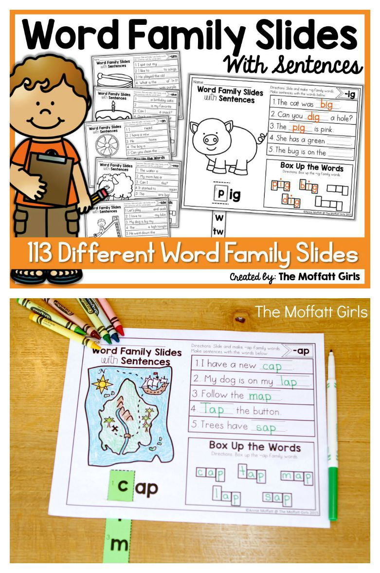 How to Effectively Teach 113 Different Word Families!