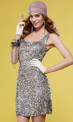 Sequin Homecoming Dress by Scala
