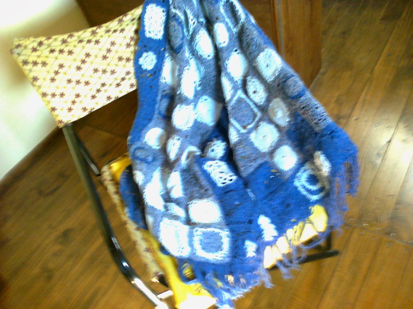 Arte y reciclaje en nuestras manos reciclando lanas - Cuadraditos de crochet ...