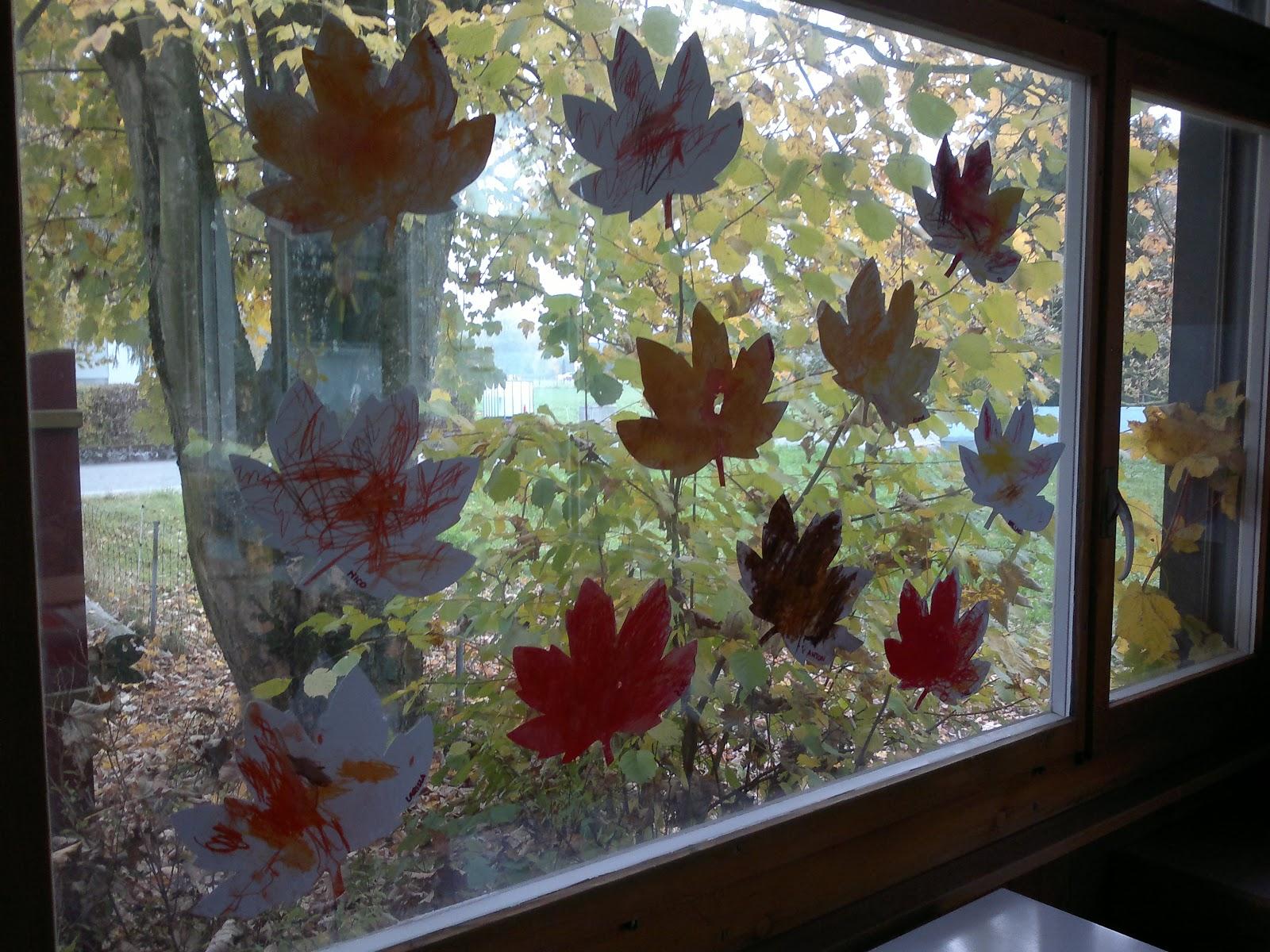Geschichten aus der spielgruppe herbstbasteleien for Herbstbasteleien mit kindern basteln