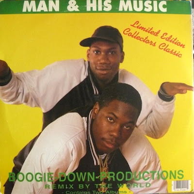 Boogie Down Productions – Man & His Music (CD) (1988) (320 kbps)