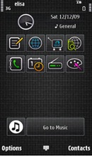 black theme 5230 Download Free Nokia 5230 Themes. Only the Best Skins!