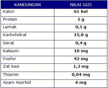 Kandungan Nutrisi Lengkeng