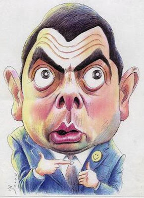 karikatur nya mr bean