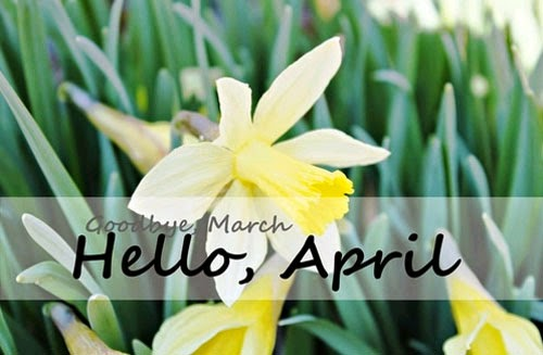 Welcome April, the month which is popularly known as the month of showers