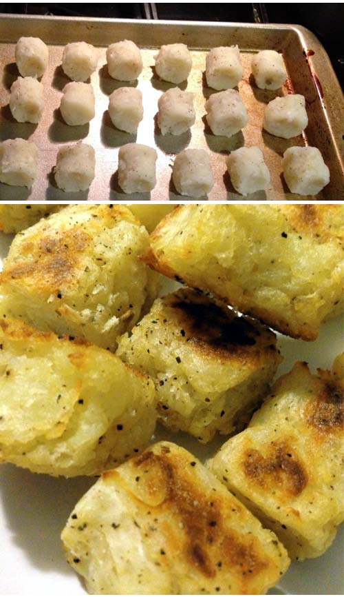 Easy no muss, no fuss homemade Tater Tots from scratch baked in your oven.