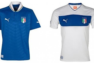 Kostum Italia Euro 2012