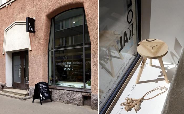 LOKAL - concept store in Helsinki