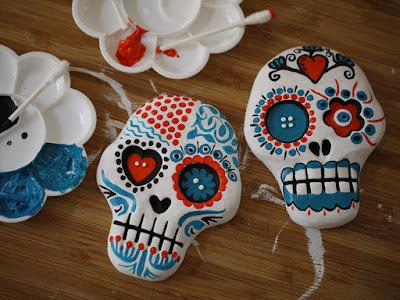 Sugar skulls.