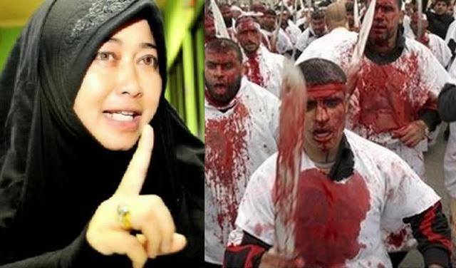 Gagal Paham, Emilia Anggap Umat Islam Pengecut Lantaran Tidak Berani Melakukan Tathbir