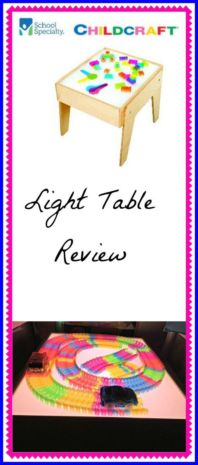 Child craft light table - Childcraft Light Table Review