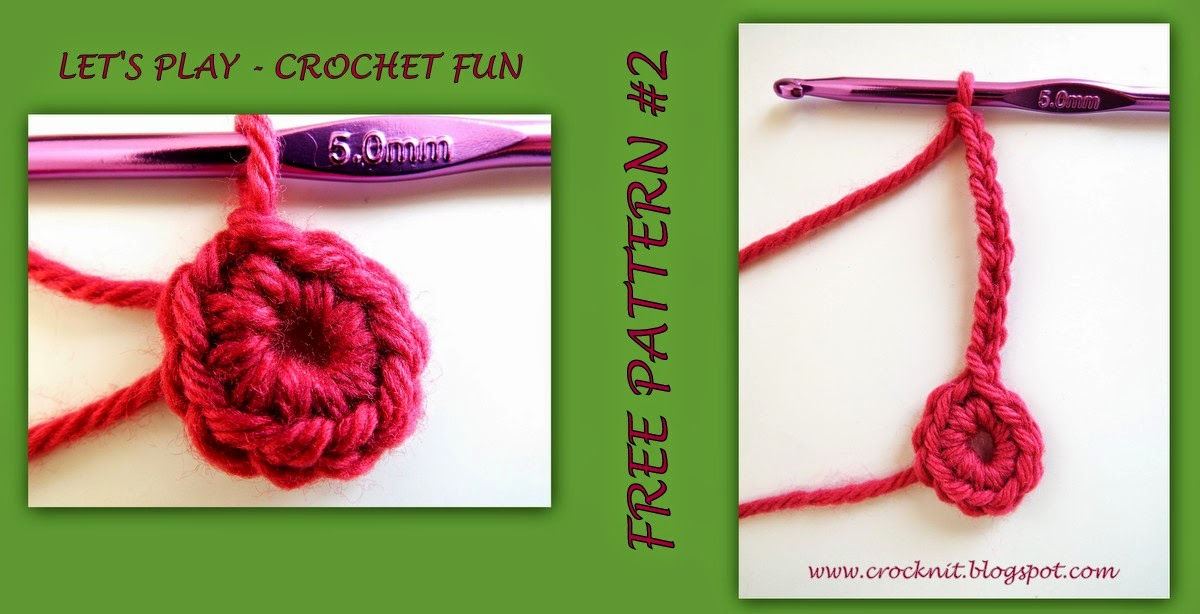 Crochet Stitch Rtrf : Rnd 2: *Ch10, miss 1st, sl st in next st, rep from * around, join in ...