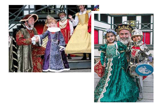 King Richard's Faire themed events