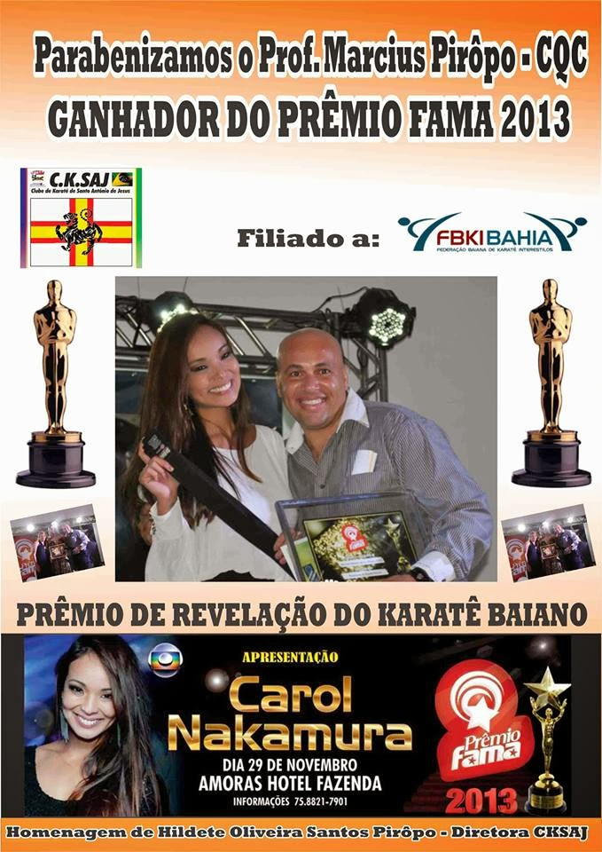 PRÊMIO FAMA 2013