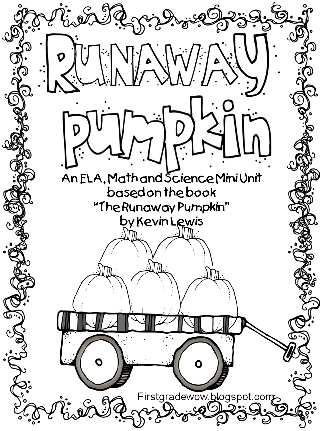 Fun halloween worksheets for 1st graders