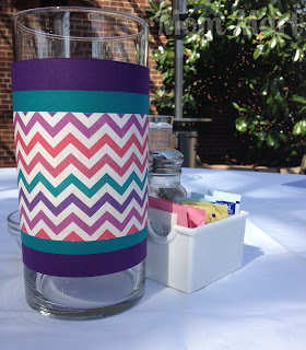 Modern Purple Baby Shower