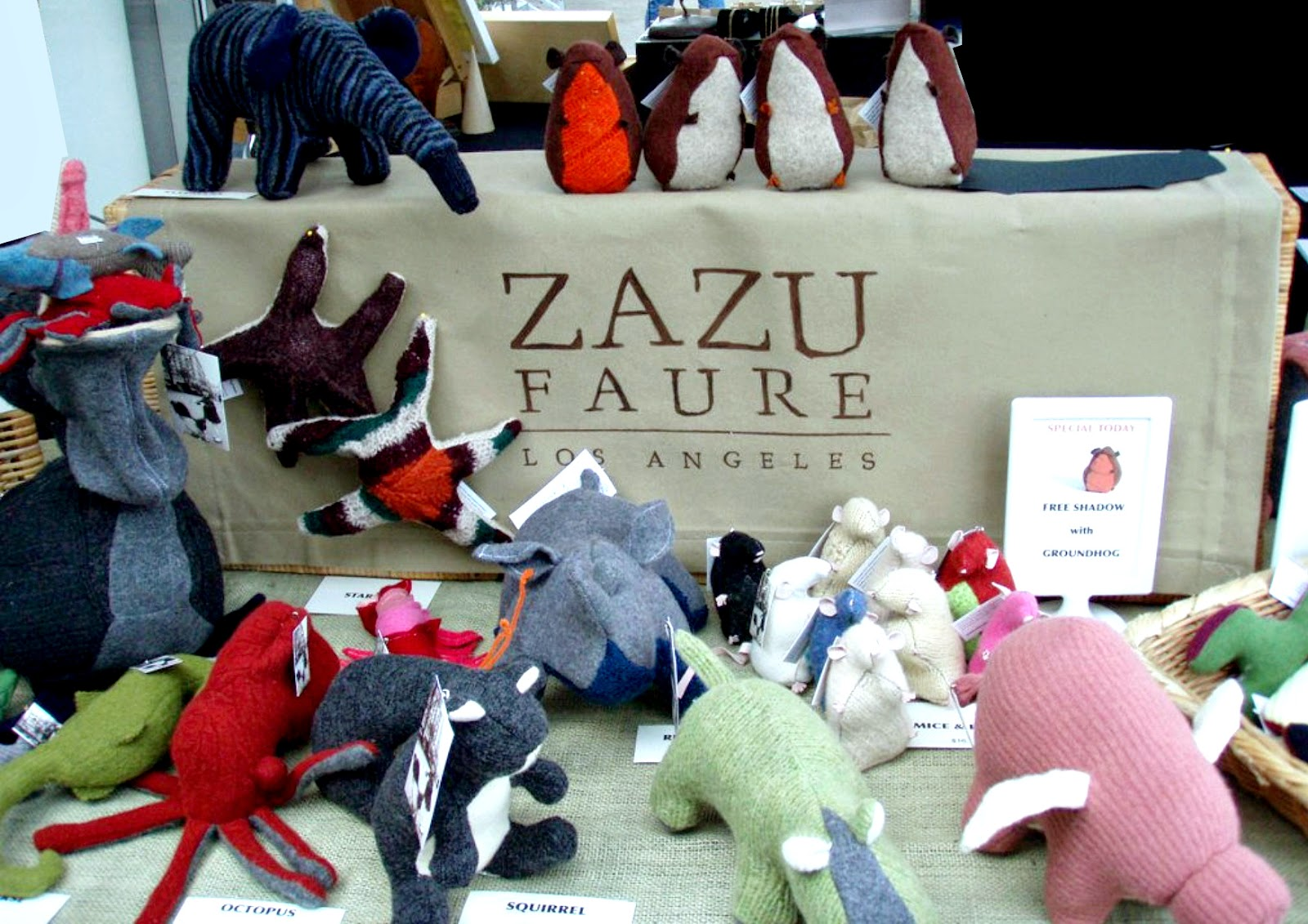 Zazu Faure feature on Shop Small Saturday Showcase at Diane's Vintage Zest!