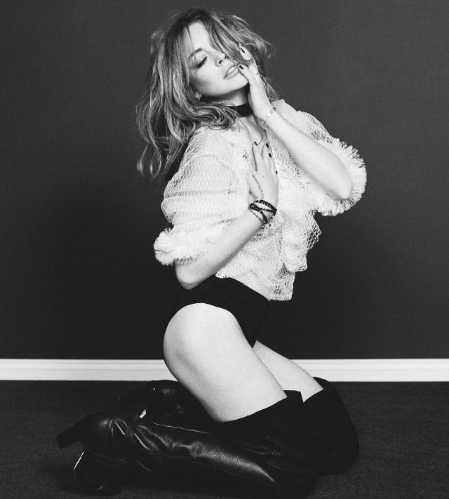 Lindsay Lohan en Wonderland Magazine
