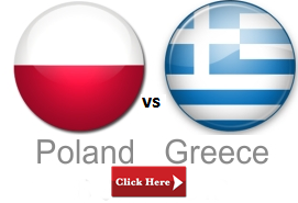 POLAND vs GREECE live streaming euro 2012