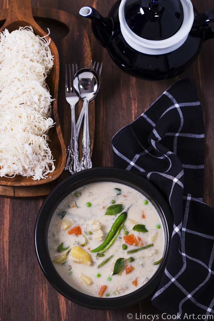 Coconut milk Vegetable Stew recipe