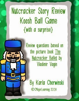 http://www.teacherspayteachers.com/Product/Nutcracker-Story-Review-Koosh-Ball-Game-with-a-surprise-1564610