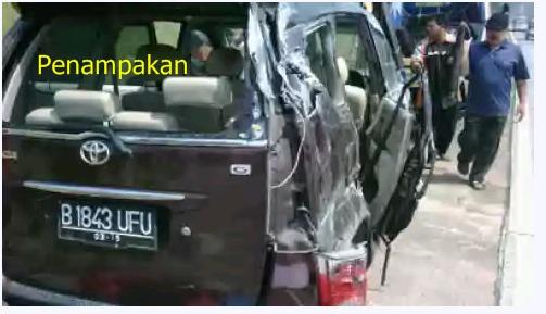 kecelakaan mobil saiful