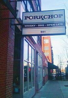Porkchop restaurant, Chicago