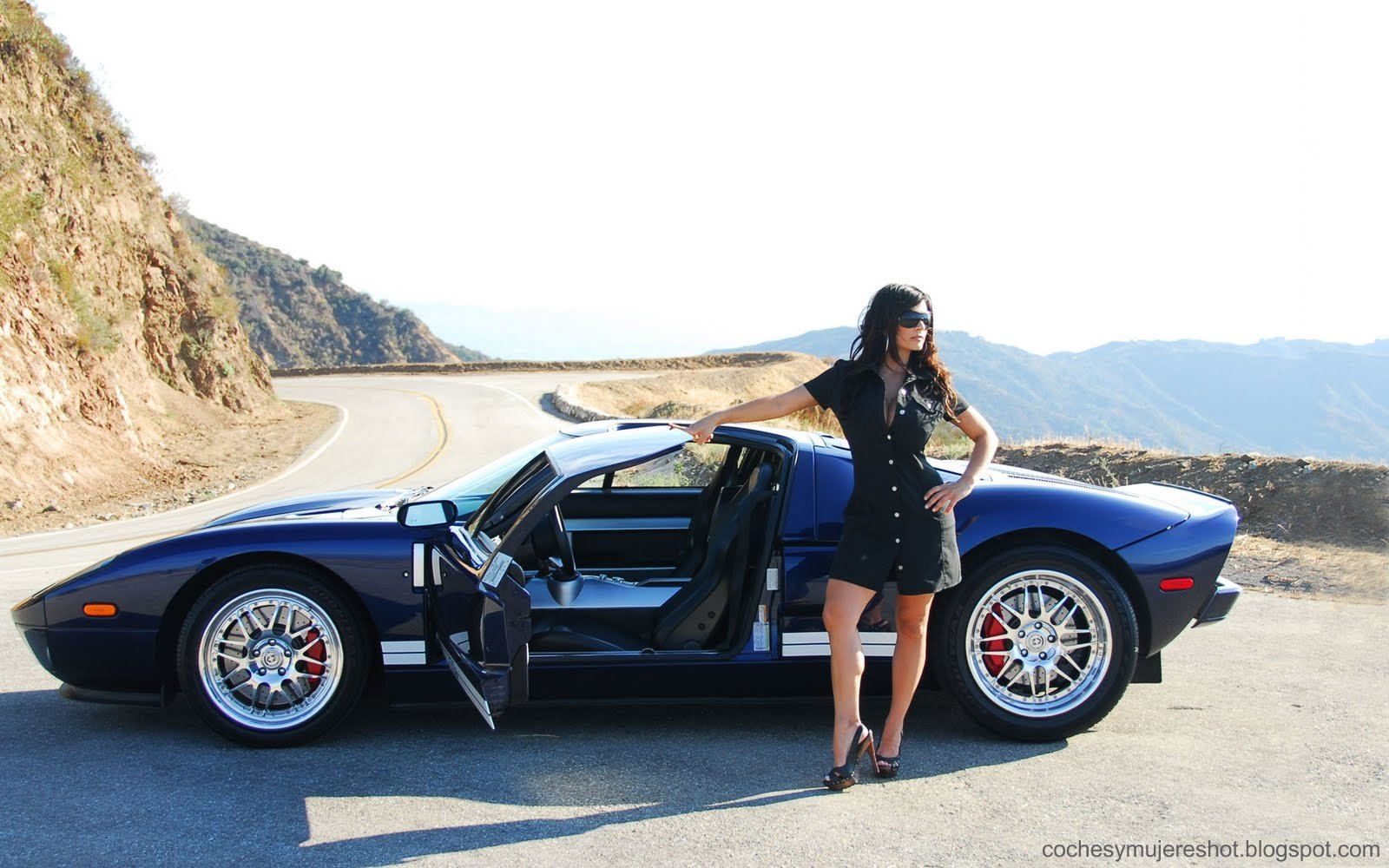 Coches Mujeres Morocha Ford Gt Supercar Wallpaper
