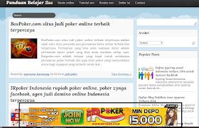 cara membuat banner melayang di blog