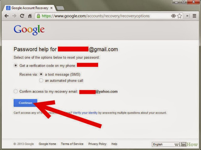 Recover Gmail Login Password