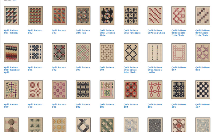 Quilt Pattern Names List : Barbara Brackman s MATERIAL CULTURE: A New York Quilt Project 100 Years Ago