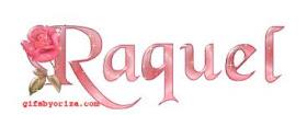 PARABENS RAQUEL - 01/05/2012