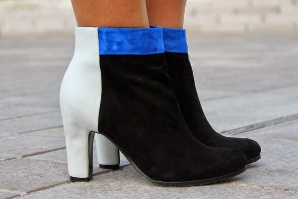 Chaussures bottines talons sam eden