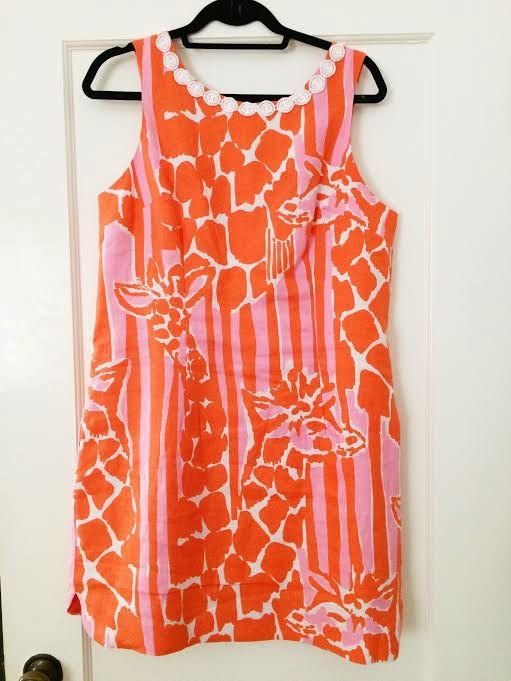 Lilly Pulitzer for Target Women's Linen Shift Dress - Giraffeeey