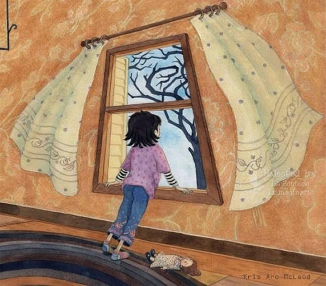 Me gusta mirar por la ventana...