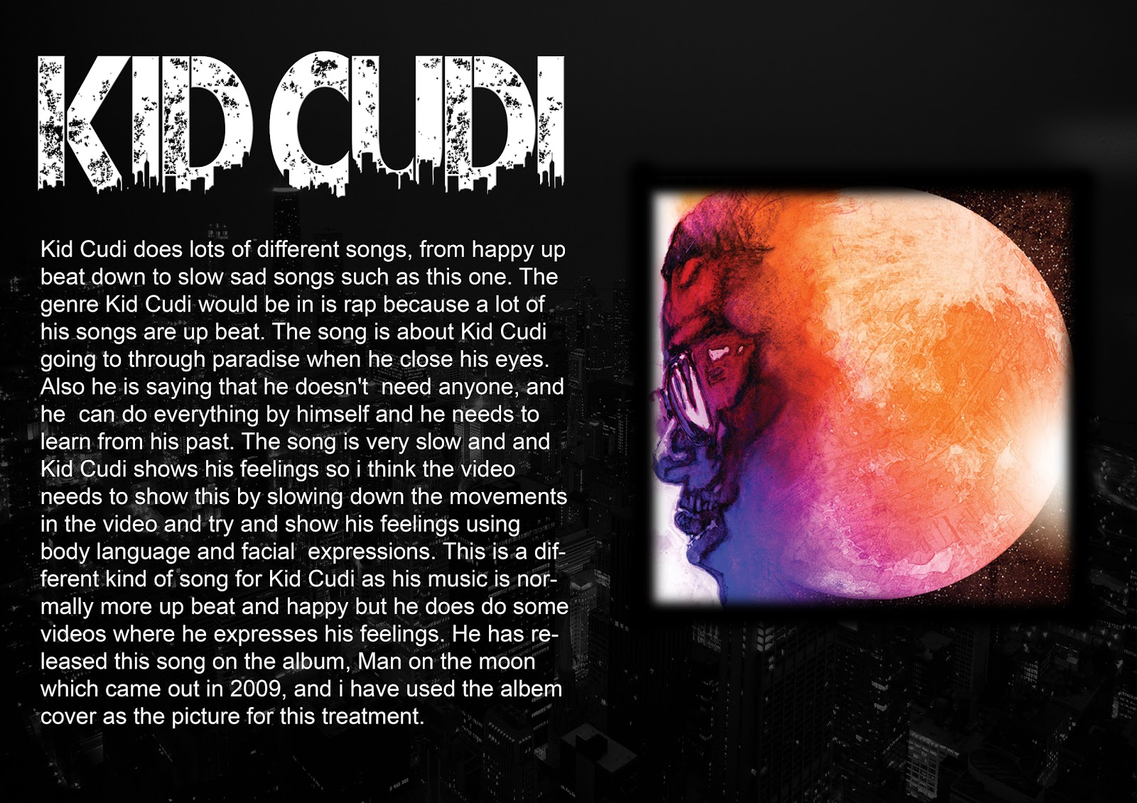Media nats unit 2 music video treatment for Video treatment template