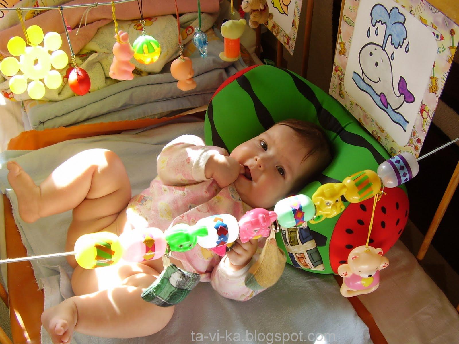 Малыш до года своими руками