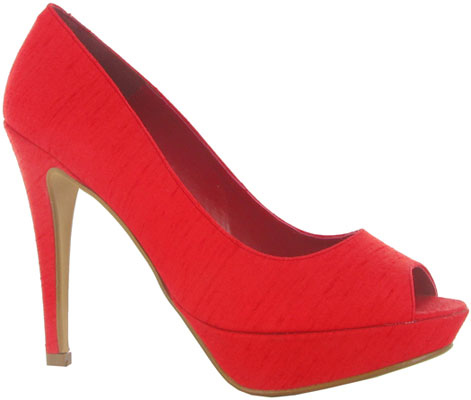 zapatos peep toes 2012