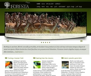 Foresta WordPress Theme