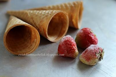 Love lodowe...przepis na domowe lody - nie dla będących na diecie ;)