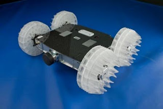 Robot Pengintai Modern Berteknologi Canggih