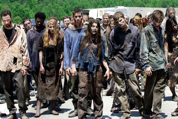 The Walking Dead temporada 4 y 5 y 6....